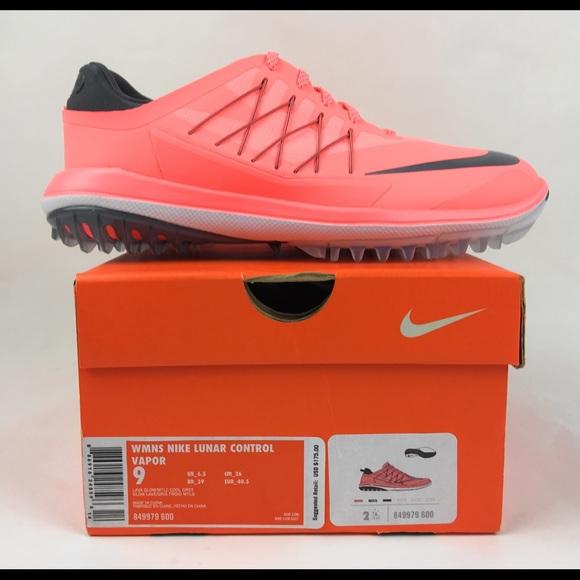 d3ad00b0148 Nike Lunar Control Vapor Golf Shoes Lava Glow Grey
